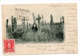 29890  -   Santiago  Chili  Cimetière  Indiens Mapucho  -  Voir Cachet - Chile