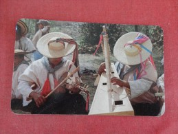 > Mexico Zinacantan Chiapas  Musicians  -------- --Reference 1686