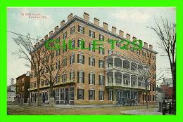 LEWISTON, ME - DE WITT HOUSE - ANIMATED - - Lewiston
