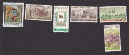 Colombia, Scott #C387, C397-C401, Used, St. Isidore, Scense Of Colombia, Issued 1961 - Colombia