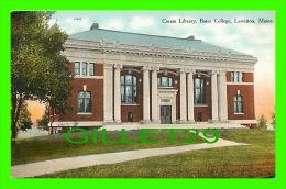 LEWISTON, ME - CORAM LIBRARY, BATES COLLEGE - - Lewiston