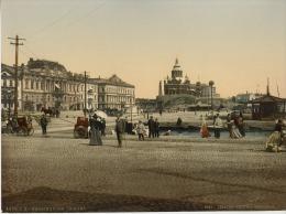 Finlande. Helsingfors. Le Quai. (FINLANDE) - Anciennes (Av. 1900)