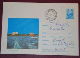 Romania  - Postal Stationery 487/ 1971 - Water Skiing On  The Lake Sutghiol - Water-skiing