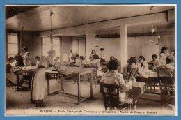76 - ROUEN -- Ecole Pratique De Commrece Et D´industrie - Cour De Récréation - Rouen