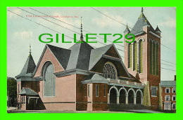 LEWISTON, ME - FIRST UNIVERSALIST CHURCH - 3/4 BACK - - Lewiston