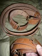 bretelle en cuir du fusil am�ricain GARAND M1 (WW2) ou pour SPRINGFIELD 1903    Top qualit� !