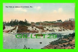 LEWISTON, ME - THE FALLS AT AUBURN & LEWISTON - - Lewiston