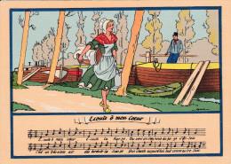 Carte Postale    BARRE & DAYEZ       Chansons Illiustrées   ECOUTE Ô MON COEUR     Illust  JACK  1479  B - Cartes Postales