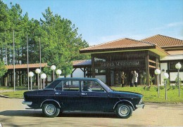 AK AUTOMOBIL FIAT 132 GLS  NOVI SAD SERBIA SRBIJA  ALTE POSTKARTE - Ansichtskarten