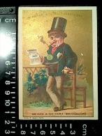 CHROMO Maison De La Belle Jardinière Succursale NANTES Bookmaker Pari Turf Créanciers Lith. Appel 1878 - Au Bon Marché