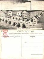 Carte Publicité Chocolat Lombart - Vue D'ensemble De L'usine - Advertising