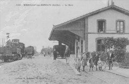 Marolles-les-braults (sarthe) La Gare - Marolles-les-Braults