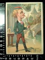 CHROMO Maison De La Belle Jardinière PIPE ALLEMANDE étudiant Heidelberg Lith. Sicard 1878 - Au Bon Marché