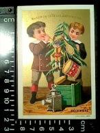 Série Complète 12 CHROMOS Maison De La Belle Jardinière Mois De L'année Lith. F. Appel 1878 - Au Bon Marché