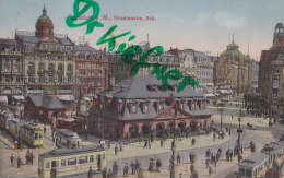 AK: Frankfurt Main, Hauptwache, Mit Straßenbahn, Um 1920 - Frankfurt A. Main