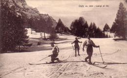 OULX TORINO CAMPI DA SCI BELLA ANIMAZIONE ANNO 1920/30 - Unclassified