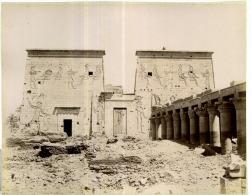 Zangaki, Egypte, Le Temple D'Edfou Sous Le Sable - Old (before 1900)