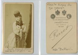 Ferret, Nice, Madame Cécile Avsoy De Saint-Joseph (Madame Boffoni) - Ancianas (antes De 1900)
