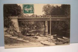 CHAMPIGNY  --- Pont Et Embarcadère - Champigny Sur Marne