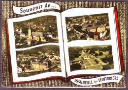 CPSM   De   GRAINVILLE LA TEINTURIERE  Souvenir De...  4 Vues Generales     Le 5 8 1971 - France
