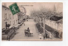 SAVIGNEUX (Ain) - Animée - Attelage - Café  (15) - France
