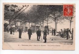 TREVOUX (Ain) - Place De La Terrasse - Une Partie De Boules (15) - Trévoux