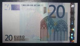20 EURO R030F3 Finland Draghi Serie L43  Perfect UNC - EURO