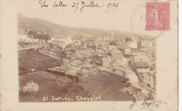 Saint Just En Chevalet (42) - Vue Générale - Carte Photo - Frankrijk