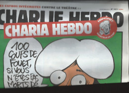 CHARLIE HEBDO    2 Novembre 2011  N° 1011  Couverture De LUZ    Charia Hebdo  16 Pages  NEUF - Humour