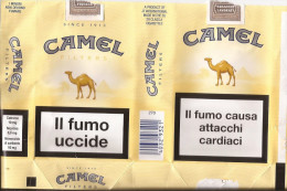 TABACCO - CAMEL COLLECTORS -  CAMEL  - EMPTY SOFT PACK ITALY - - Boites à Tabac Vides