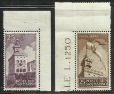 SAN MARINO 1945 CINQUANTENARIO PALAZZO DEL GOVERNO PALACE OF GOVERNMENT CINQUANTENAIRE MNH - Nuovi