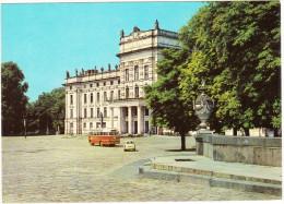 Ludwigslust: TRABANT P50, PANORAMA AUTOBUS/COACH - Schloß - D.D.R./G.D.R. - Turismo
