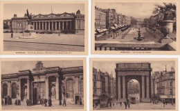 LOT  DE  18   CPA    DE  BORDEAUX  - Toutes Scanées - Cartes Postales