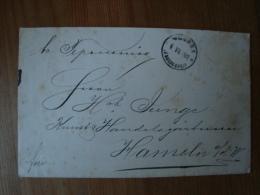 Russland: Alter Brief Von Moskau Nach Hameln, Gelaufen 1901 ! - 1857-1916 Imperium