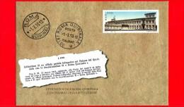 Nuovo - ITALIA - 2013 - Busta Postale - Intero - 100 Anni Dell´istituzione Dell´ufficio Postale Di Roma Quirinale - 0,70 - Interi Postali