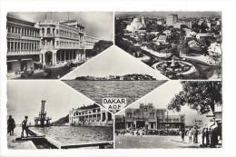 11435 - Dakar A.O.F. Poste Principale Ile De Gorée Place Sandaga - Sénégal