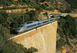 RU 0931 - TGV Sud-est Rame N° 70 Vers ANTHEOR CAP ROUX Commune De SAINT-RAPHAEL - Var 83 - SNCF - Antheor