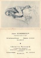 VP -  B1588-54 - Nancy -  Petit Calendrier 1959 Photographe - Calendari
