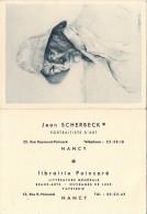 VP -  B1589-54 - Nancy -  Petit Calendrier 1960 Photographe - Calendriers