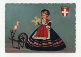 CP , Poupée Savoyarde - Folklore