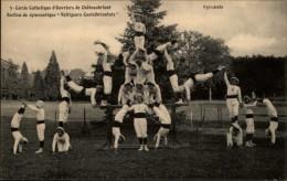 44 - CHATEAUBRIANT - Voltigeurs - Pyramide - Gymnastique - Cercle Catholique D´ouvriers - Châteaubriant