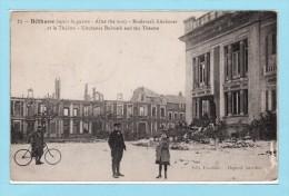 BETHUNE - Boulevard Kitchener Et Le Théatre - Après La Guerre - Bethune