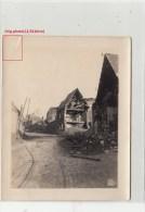 Photo Allemande- IRLES Village Bombardé  Dép 80(Geurre14-18)2scans - France