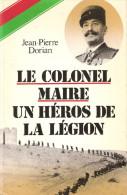 SOUVENIRS COLONEL MAIRE LEGION ETRANGERE GUERRE 1914 FRONT FRANCE MAROC REI