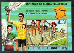 GUINEE EQUATORIALE. BF 73 (catalogue Michel) Oblitéré. Tour De France 1972. - Cycling