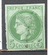 Colonies Générales Yvert N°17°; Petit Clair - Cérès