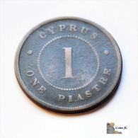 Chipre - 1 Piastre - 1881 - Chipre