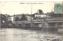 Cpa - Béhobie - Puente International - Béhobia  ( En L´état ) - Béhobie