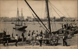 29 - ROSCOFF - Port - Bateau - Travail Cheval - Roscoff