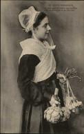 29 - ROSCOFF - Costume - Coiffe - Ail - Artichaud - Roscoff